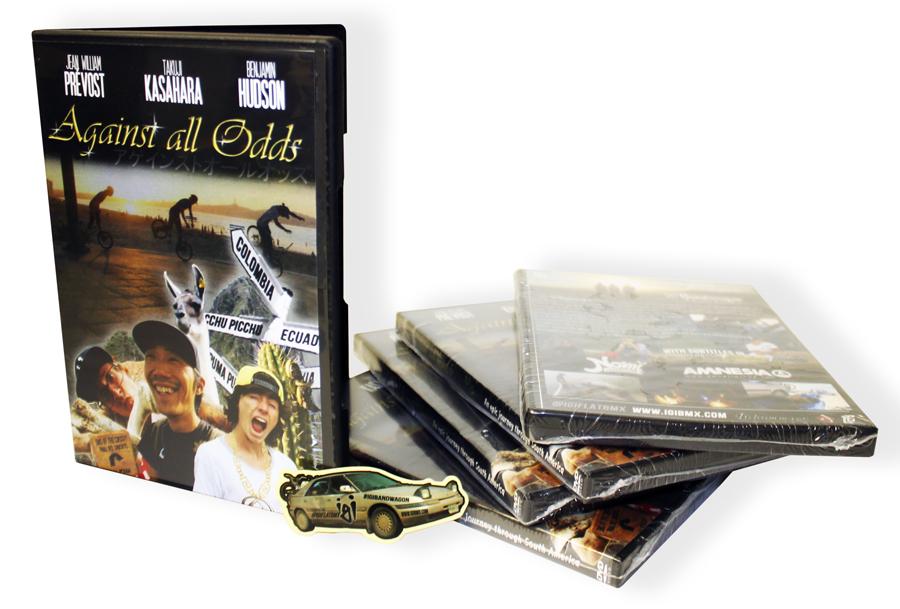 dvd on white