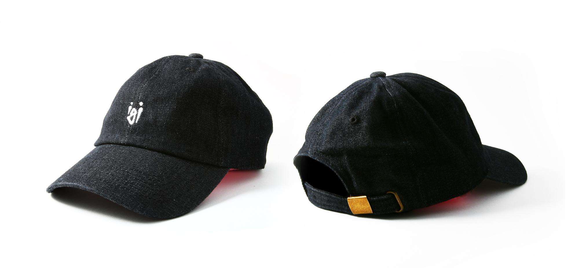 black denim daddy hat