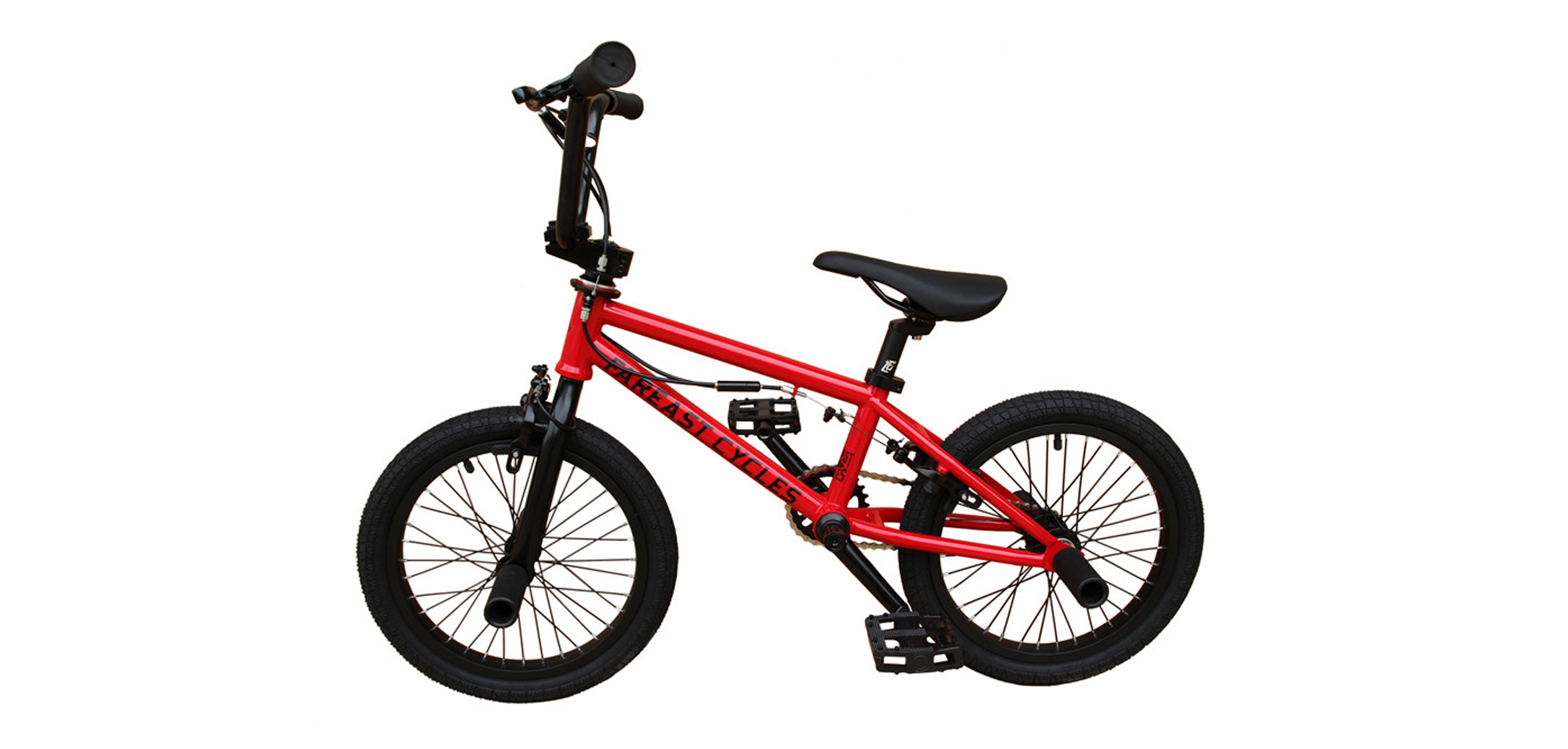 KIDS BIKE RED